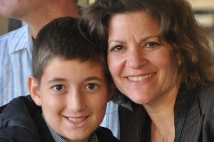 Noah & Ilise on the Bar Mitzvah Day