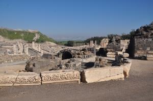 Bet She'An National Park - an old Roman settlement