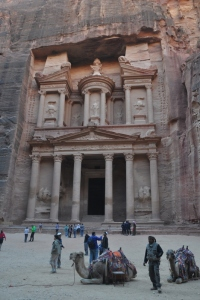 The Temple at Petra that is just spectacular in so many ways.