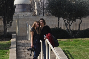 Drew & Ilise in Jerusalem