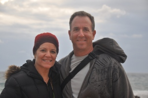 Ilise & Larry in Caesarea