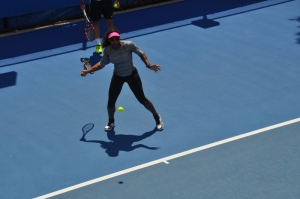 Serena Williams Practice Session @ Australian Open