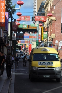 China Town in Melbourne