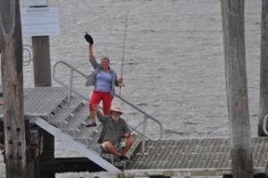 Bill & Diane waving goodbye!