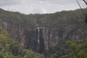 Minyon Falls from a distance