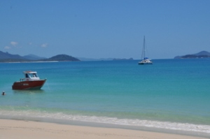 Amazing water at Whitehaven Beach