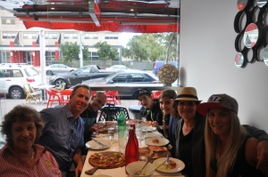 Dinner w/ Kay, Josh & Emelia