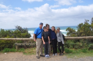 Family Plus Karley on Great Ocean Road