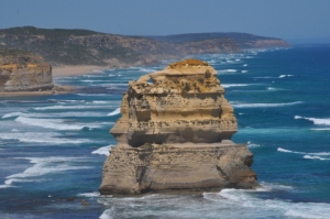 The first of the 12 Apostles driving west