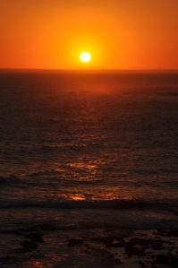 Sunset in Port Campbell