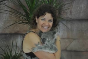 Ilise & the koala