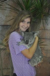 Drew & the koala