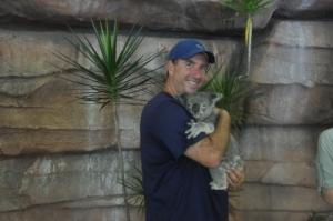 Me & the koala