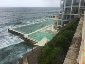 Salt water pool at Bondi Beach