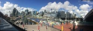 Sydney Skyline from Darling Harbor