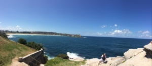 Panorama of Bondi Beach