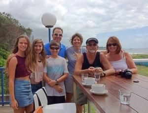 Kesslin and Bukcmaster families in Coff's Harbor