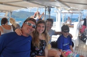 The ride out to the Great Barrier Reef