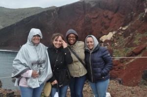 Ilise with Brenda, Genique and Yalixa.