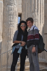 Noah and Karley @ the Acropolis
