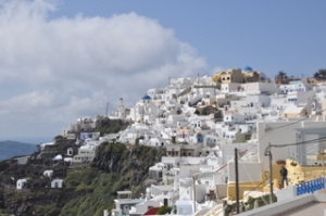 Oia from afar. Pretty nice.