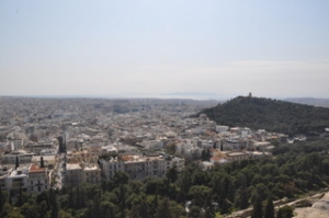 Amazing views from the top of the Acropolis