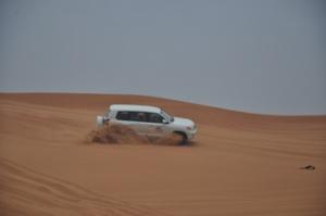 4-Wheeling in the desert