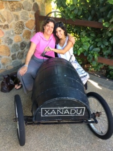 Ilise and Karley at Xanadu winery. Very cute :-)