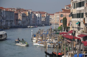 The main canal in Venice