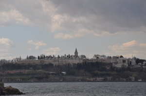 Topkapi Palace from the ferry