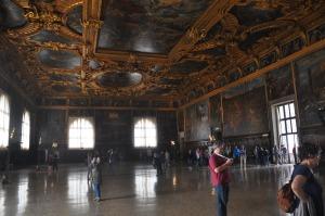 Huge room at Doge's Palace