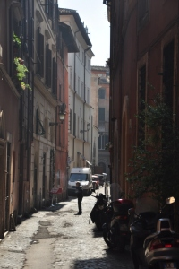 Very cool little alley ways throughout all of Rome.