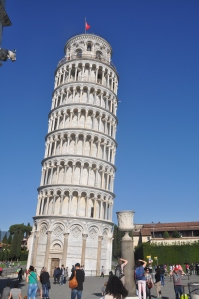 The leaning tower of Pisa. Had to go see it for myself!