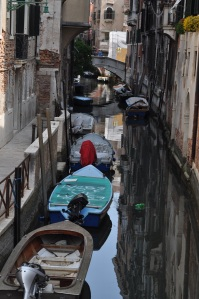More small canals in Venice