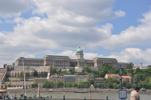 The castle on the hill in Buda