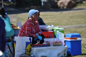 Vendor in Thai Park