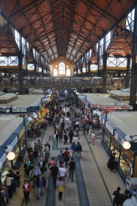 The Central Market in Budapest