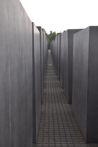 Jewish Memorial near Brandenburg Gate
