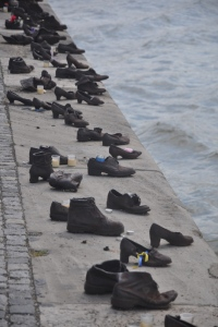Shoes on the Danube exhibit in Budapest