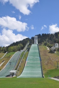 Olympic Training Center ski jump.