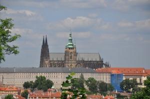 Prague Castle and the Basilica