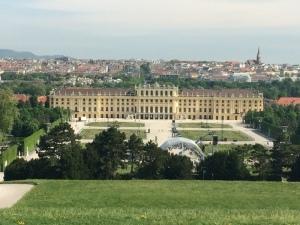 Schloss Schonbrunn Palace in Vienna