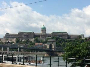 Buda Castel in Budapest