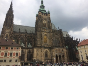 St. Vitus Basilica at Prague Castle