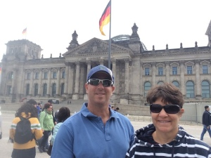 Ilise and me on our first full day in Berlin