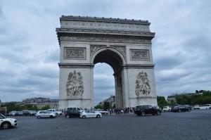 Arc de Triumph in Paris