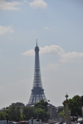 Eiffel Tower from Tuileries Gardens