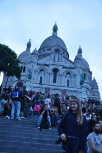 Drew in front of Sacre-Couer