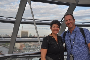 Ilise and me at the top of the Reichstag Building
