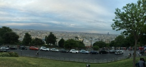 Panoramic of Paris from Sacre-Coure